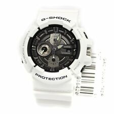 *NEW* CASIO MENS G SHOCK WHITE SILVER WATCH OVERSIZE GAC-100GW-7AER 7AC  RRP£160