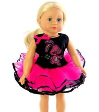 """Bunny Tutu Outfit Fits 18"""" American Girl Doll Clothes"""