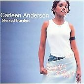 CARLEEN ANDERSON - BLESSED BURDEN (ORIGINAL 1998 CIRCA) CD ALBUM