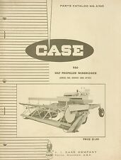 Original CASE Parts Catalog No. A960 950 Self Propelled Windrower No. 8292501 +