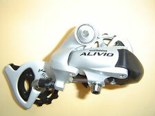 SHIMANO Schaltwerk Alivio RD-M410 SGS 3 x 7- 8-fach MTB Trekking silber NEU