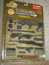 "1/6 WW2 US Special Forces "" Devils Brigade "" Weapon Set, Boys, Johnson, Thompson"