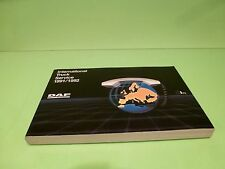 VINTAGE DW030301 DAF INTERNATIONAL TRUCK  SERVICE BOOK 1991/1992 - GOOD COND