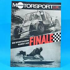 DDR Illustrierter Motorsport IMS 11/1981 Malchin Skoda Garde Mühlhausen Six Days