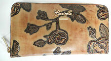 C. FIORENTINA Designer Wallet Purse in BEIGE real leather Handmade in Italy 350$