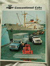 Chevrolet Conventional Cabs Series 40 - 80 Truck brochure 1969