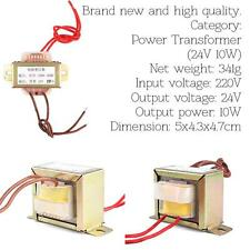 AC 220V To 24V 10W Power Transformer For Machine And Mainframe Computer