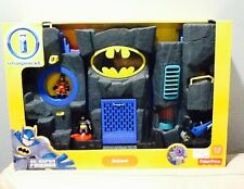 Fisher Price Imaginext DC Super Friends Bat Cave With 2 Figures - New In Box
