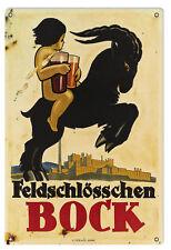 Reproduction Feldschlosschen Bock Beer Sign