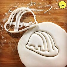 Construction Safety Helmet biscuit cutter | cookie builder building constructor