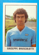 CALCIO FLASH 1981-82 Lampo Figurina-Sticker n.231-BRUSCOLOTTI-NAPOLI-New