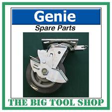 Genie SLA Material Lift Braked Swivel Castor 57740 Brake Spare Part Caster Wheel