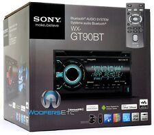 SONY WX-GT90BT 2-DIN CD MP3 USB AUX STEREO BLUETOOTH IPOD EQUALIZER PANDORA NEW