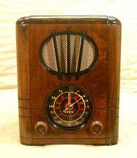 Old Antique Wood Arvin Rhythm Baby Vintage Tube Radio - Restored & Working