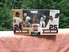 McFarlane - Wilie Mays & Barry Bonds - Cooperstown Collection New In Box!