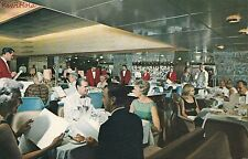 Postcard Ship Home Lines SS Oceanic Main Dining Room