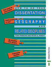 How To Do Your Dissertation in Geography and Related Disciplines,GOOD Book