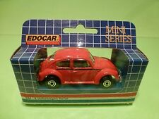 EDOCAR EM-8 VW VOLKSWAGEN BEETLE KAFER - RED  1:50? - NEAR MINT IN BOX