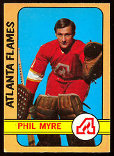 1972 73 OPC O PEE CHEE HOCKEY #43 PHIL MYRE EX+ ROOKIE ATLANTA FLAMES RC