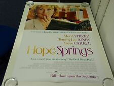 Hope Springs Meryl Streep Comedy  Original Film Movie Poster One Sheet 69x102cm