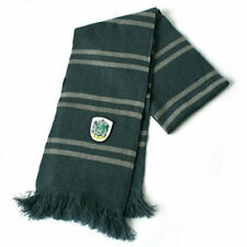 Harry Potter Slytherin Thicken Wool Knit Scarf Soft Warm Costume Cosplay