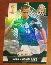2014 Panini Prizm World Cup Javier Hernandez BASE #148 Shiny Refractor Mexico