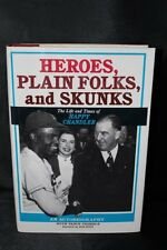 A.B. Happy Chandler Autographed Book, Heroes Plain Folks and Skunks