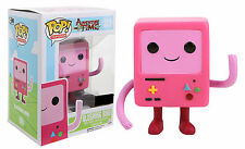 "EXCLUSIVO ADVENTURE TIME QUE SE SONROJA ROSA BMO 3.75"" POP VINYL FIGURA - FUNKO"