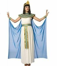 WOMENS CLEOPATRA EGYPTIAN QUEEN HALLOWEEN COSTUME DRESS SIZE M 8-10 BRAND NEW