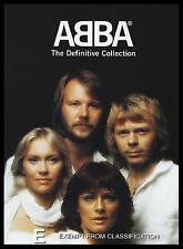 ABBA - DEFINITIVE COLLECTION DVD ~ +2.5 HOURS OF CLASSIC 70's / DISCO Trax *NEW*