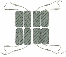 TENS Electrode pads 8 Large Pads And Leads Compatible With Bodi-Tek Ab Builder