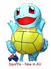Squirtle Pokemon Go Helium Quality Foil Balloon Birthday Party Decoration NEW