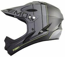 Demon Podium Full Face Mountain Bike Helmet Black Small