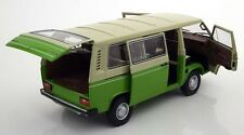 Schuco 1979-1990 Volkswagen T3 Bus Green/Creme in 1/18 Scale New Release!
