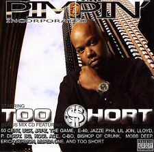 Pimpin' Incorporated [PA] by Too $hort (CD, Jan-2006, Up All Nite) Too Short