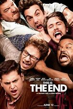 This Is The End (2013) Movie Poster (24x36) - James Franco, Seth Rogen, Hill