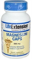 Magnesium caps, 500mg x100Vcaps;- with TRAACS Magnesium Lysyl Glycinate Chelate