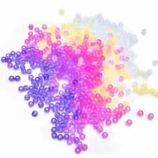 Assorted Colors UV Beads Changing Reactive Plastic Pony Beads, 550 Pieces