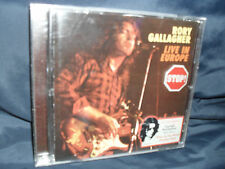 Rory Gallagher ‎– Live In Europe