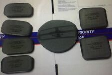 "USGI Ach SKYDEX Comms Unit Helmet Pad Set 7-Piece 3/4"" Foliage Green & Black New"