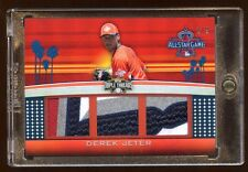 DEREK JETER 2011 TOPPS TRIPLE ALL PATCH LOGO #D 2/9 AMAZING JERSEY#   HOF ? RARE