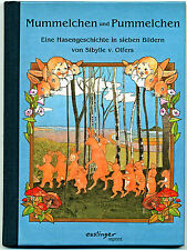 Mummelchen und Pummelchen Jugendstil Reprint v. Wurzelkinder-Autorin S.v.Olfers
