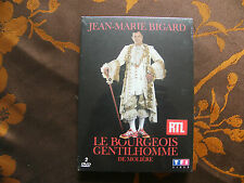 """2 DVD JEAN-MARIE BIGARD  """"Le Bourgeois Gentilhomme""""  (2006)   Neuf Sous  Blister"""