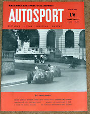 Autosport 25/5/56* MONACO GP PICTURES - WHIT WEEKEND MEETINGS - BMW ISETTA TEST