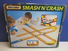 Vintage Matchbox Smash n Crash s-100 para Coches Conjunto de Juego en Caja Completa 231 Diecast