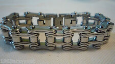 NEW Men's Motorcycle or Biker Stainless Steel Chain Bracelet