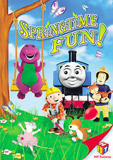 SALE DVD Hit Favorites: Springtime Fun (FS) New Barney, Thomas & Friends, etc