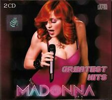 Madonna Greatest Hits Best Songs CD 2-disc Set in Cardboard Box Z