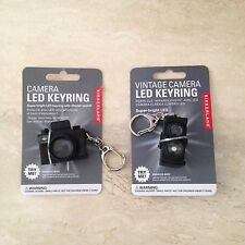 Kikkerland Retro Camera Keychains (Set Of 2)