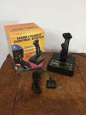 Vtg 80s 90s Computer PC Joystick Flight Controller Mark 1 Gaming Game Thrustmast